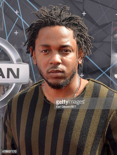 Hiphop artist Kendrick Lamar attends the 2015 BET Awards at the Microsoft Theater on June 28 2015 in Los Angeles California