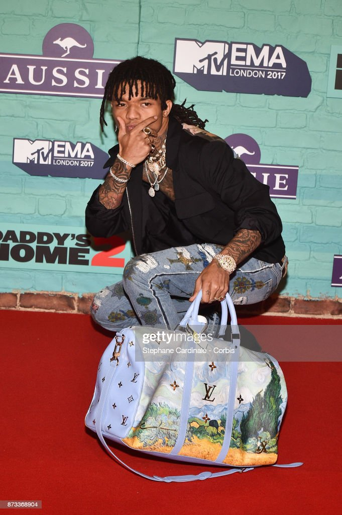 Hip-Hop artist Swae Lee attends the MTV EMAs 2017 at The SSE Arena, Wembley on November 12, 2017 in London, England.