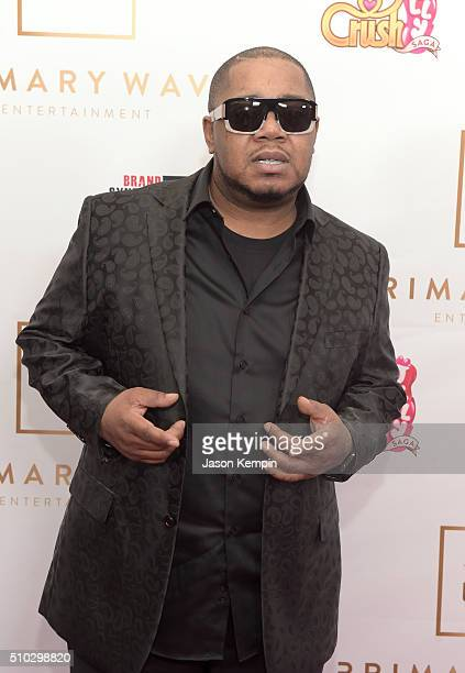 Hiphop artist Twista attends the Primary Wave 10th Annual PreGrammy Party at The London West Hollywood on February 14 2016 in West Hollywood...