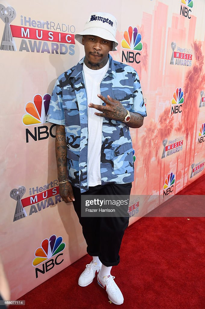 Hip-hop artist YG attends the 2015 iHeartRadio Music Awards which broadcasted live on NBC from The Shrine Auditorium on March 29, 2015 in Los Angeles, California.