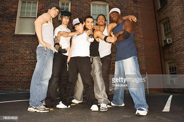 Hip-hop dance troupe