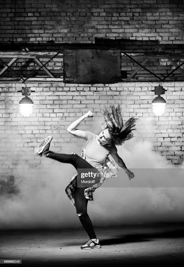 Hip-hop Dancer Girl : Stock-Foto