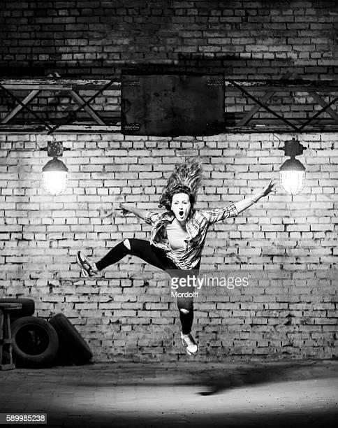 Hip-hop Dancer Woman