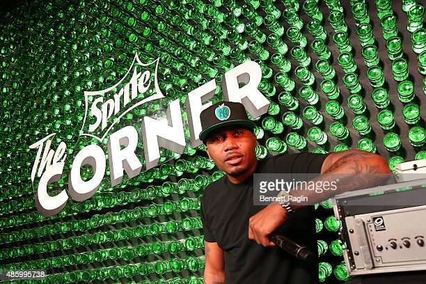 Hiphop icon Nas took the stage before a packed house at The Sprite Corner on Saturday Aug 29 in New York City