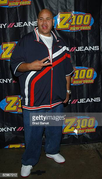 HipHot artist Fat Joe arrives to the press room at Z100'S Zootopia 2005 at Continental Airlines arena on May 22 2005 in East Rutherford New Jersey