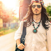Hippie Free Men on the Road