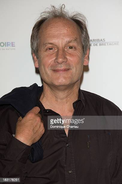 Hippolyte Girardot attends the Dinard British film festival closing ceremony on October 5 2013 in Dinard France
