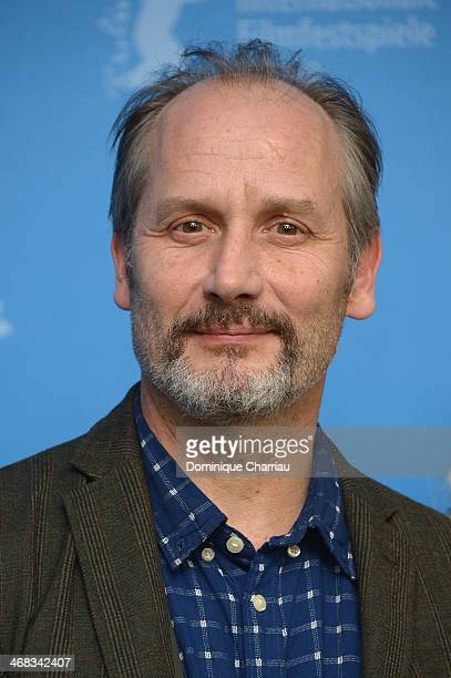 Hippolyte Girardot attends the 'Life of Riley' photocall during 64th Berlinale International Film Festival at Berlinale Palast on February 10 2014 in...
