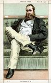'Hippy' 1871 A caricature of Lionel DawsonDamer British politician DawsonDamer was Conservative MP for Portarlington in Ireland from 18571865 and...