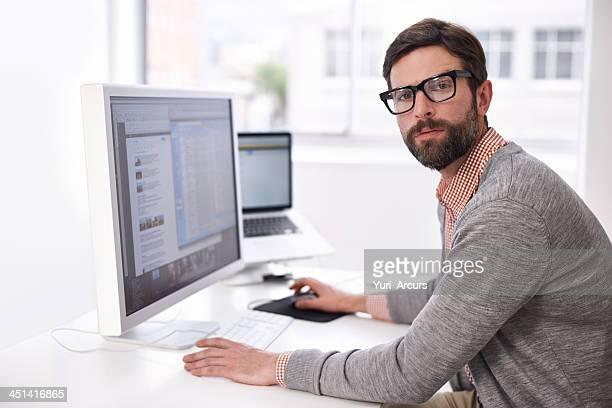 Hipster der Arbeit