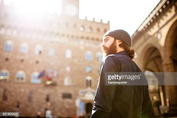 Portrait de Hipster à Florence