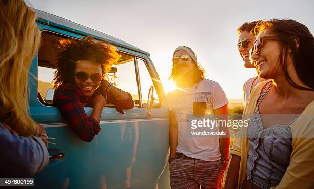 Hipsters on a roadtrip