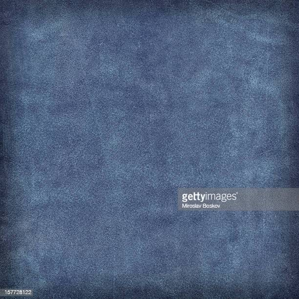 Hi-Res Peau animale-Texture en suède de porc Échantillon bleu minuit