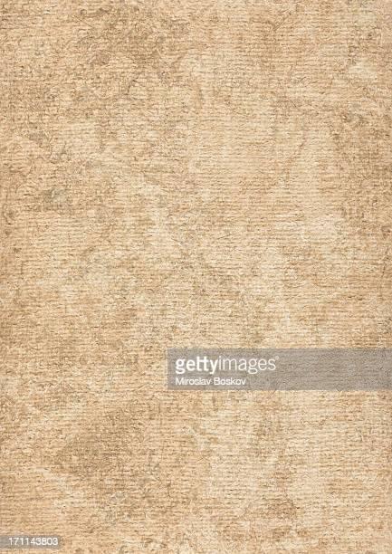Hi-Res Artist's Coarse Grain Primed Jute Canvas Mottled Grunge Texture