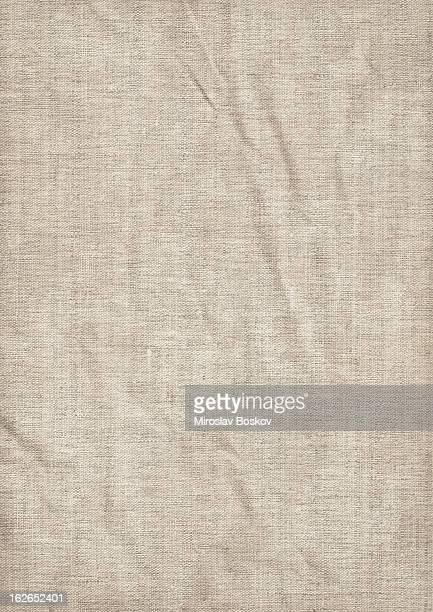 De alta resolução Tela de linho antigo-Grunge textura enrugada mosqueado
