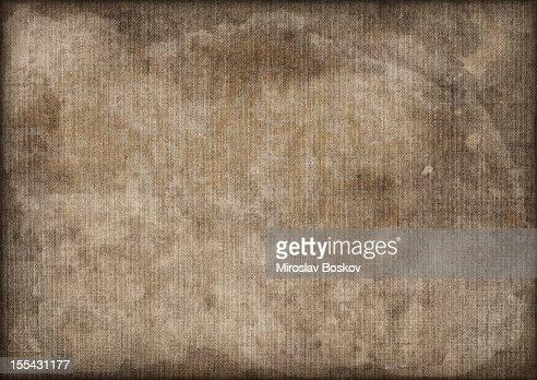 Hi-Res Artist's Linen Duck Canvas Mottled Stained Vignette Grunge Texture