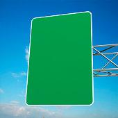 Hi-Res Blank Road Sign