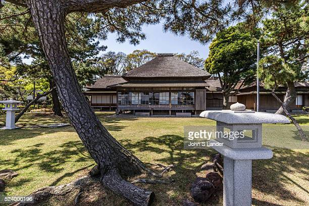 Hirobumi Garden at Nojima Koen Hirofumi Ito was Japans first prime minister He had a beautiful thatched roof villa built overlooking Tokyo Bay on the...