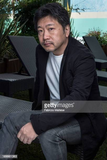 Hirokazu Kore Eda is photographed for Self Assignment on May 20 2013 in Cannes France