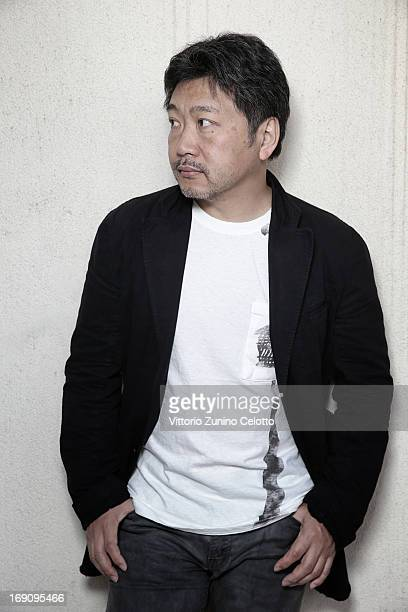 Hirokazu Koreeda poses for a portrait during The 66th Annual Cannes Film Festival at All Suites Residences on May 20 2013 in Cannes France