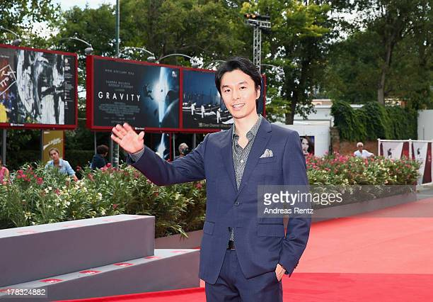 Hiroki Hasegawa attends Why Don't You Play In Hell Premiere during the 70th Venice International Film Festival on August 29 2013 in Venice Italy