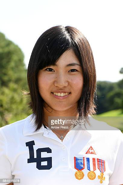 Hiromu Ono of Japan poses during a Portrait Session at the LPGA Pro Test QT at the Shunan Country Club on July 29 2016 in Shunan Japan