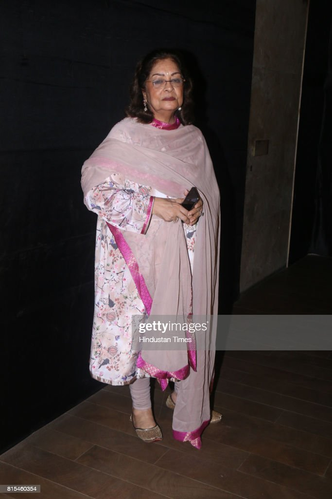 Hiroo Johar during a special screening of movie Jagga Jasoos at Lightbox, Santracruze, on July 13, 2017 in Mumbai, India.