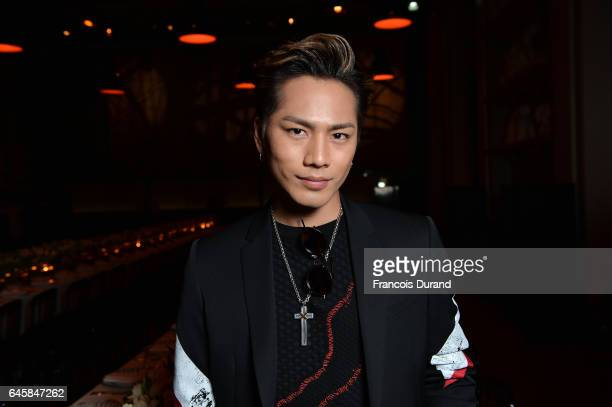 Hiroomi Tosaka attends the Dior Homme Menswear Aftershow Cocktail Dinner Fall/Winter 20172018 show as part of Paris Fashion Week on January 21 2017...