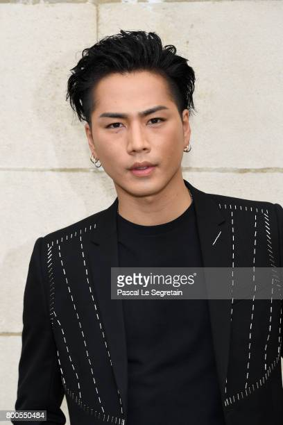 Hiroomi Tosaka attends the Dior Homme Menswear Spring/Summer 2018 show as part of Paris Fashion Week on June 24 2017 in Paris France