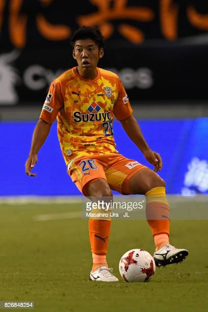 Hiroshi Futami of Shimizu SPulse in action during the JLeague J1 match between Sagan Tosu and Shimizu SPulse at Best Amenity Stadium on August 5 2017...