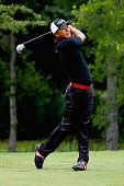 Hiroshi Iwata plays his shot from the 12th tee during Round Three at the ATT Byron Nelson on May 21 2016 in Irving Texas