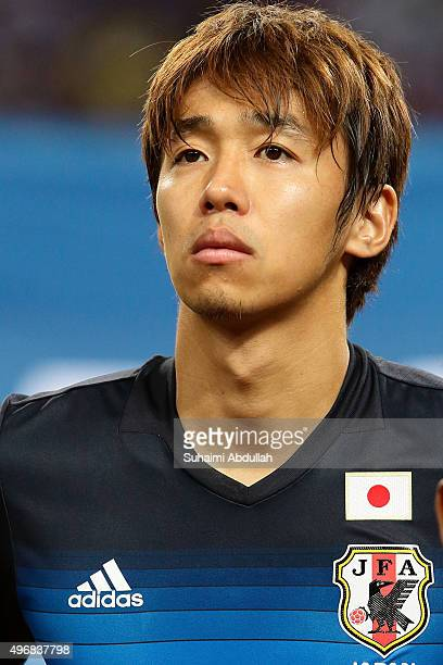 Hiroshi Kiyotake of Japan is seen during the 2018 FIFA World Cup Qualifier match between Singapore and Japan at National Stadium on November 12 2015...