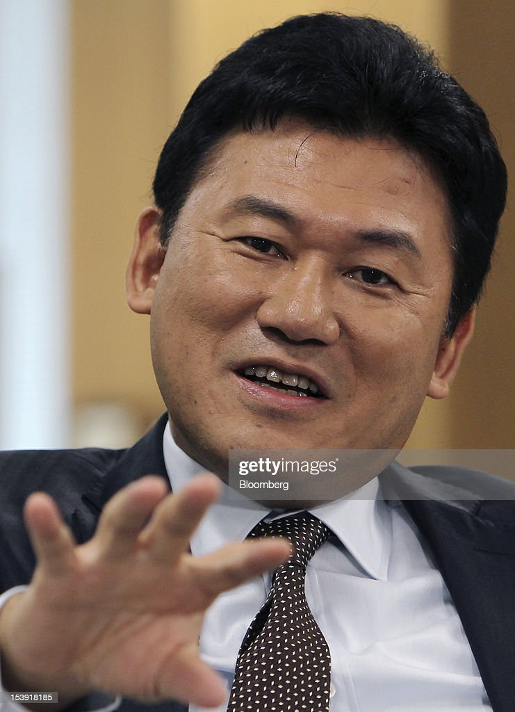 Rakuten CEO Hiroshi Mikitani Interview   Getty Images