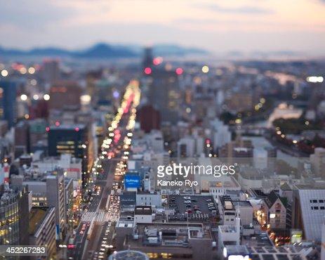 Hiroshima city.