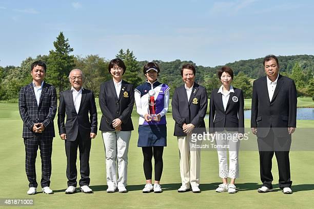 Hiroyoshi Ishizaki Senior Managing Director of IZAK COLTD Yoshinori Ishizaki CEO of IZAK COLTD Hiromi Kobayashi Hiromi Kobayashi chairman of LPGA...