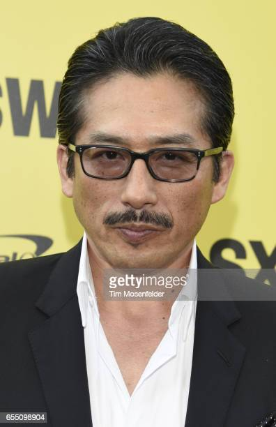 Hiroyuki Sanada attends the Premier of 'Life' at the Zach Theatre during the 2017 SXSW Conference And Festivals on March 18 2017 in Austin Texas