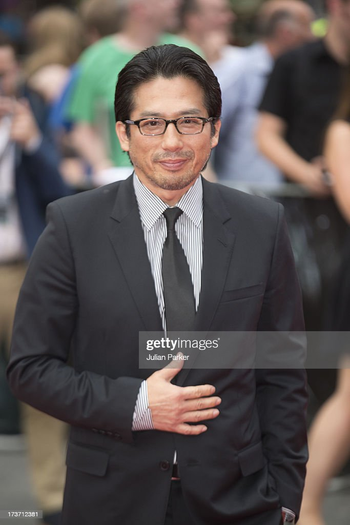 Hiroyuki Sanada attends the UK Premiere of 'The Wolverine' at Empire Leicester Square on July 16, 2013 in London, England.