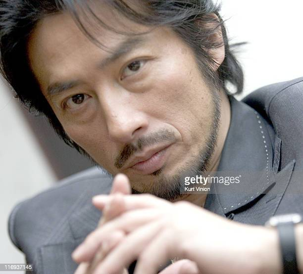 Hiroyuki Sanada during 56th Berlinale International Film Festival Hiroyuki Sanada Portrait Session at Hotel Intercontinental in Berlin Germany