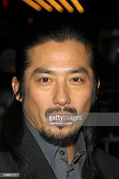 Hiroyuki Sanada during The Last Samurai New York Premiere at The Zeigfeld Theater in New York City New York United States