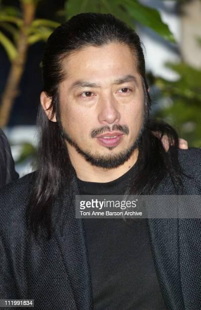 Hiroyuki Sanada during 'The Last Samurai' Paris Photocall at Ritz Hotel in Paris France