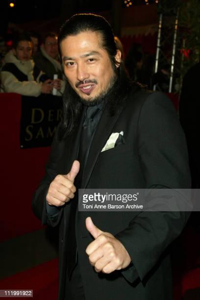 Hiroyuki Sanada during 'The Last Samurai' Paris Premiere Outside Arrivals at Grand Rex in Paris France