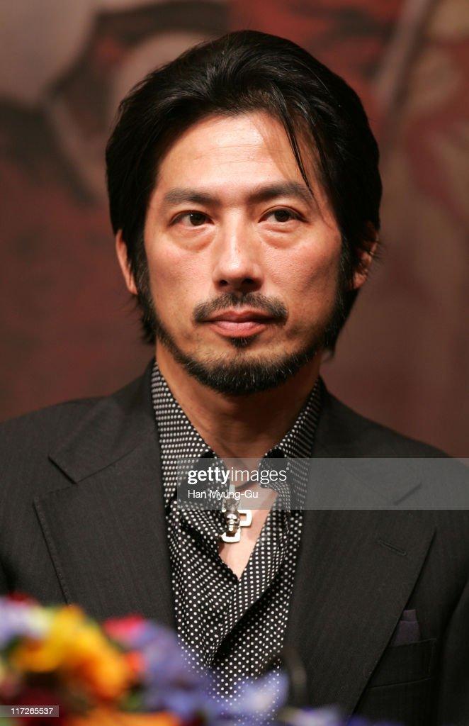 Hiroyuki Sanada during The Promise Press Screening in Seoul January 19 2006 at Shilla Hotel in Seoul South South Korea