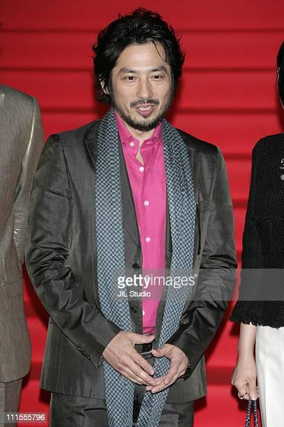 Hiroyuki Sanada during 'The Promise' Tokyo Premiere Red Carpet at VIRGIN TOHO Cinemas in Tokyo Japan