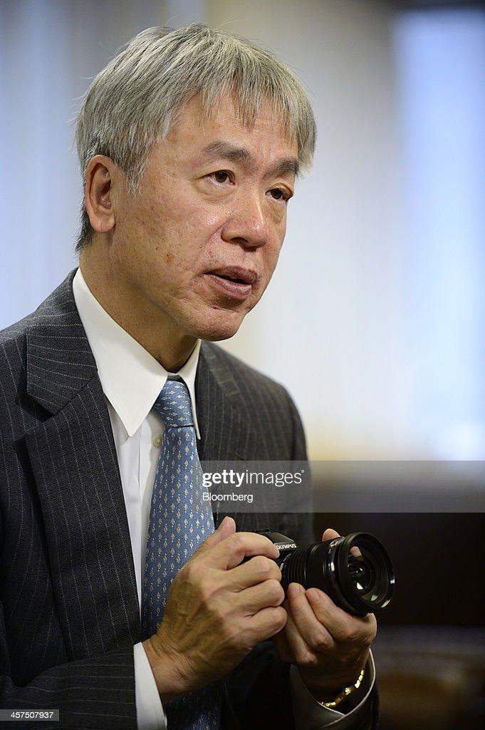 Olympus Corp. President Hiroyuki Sasa Interview