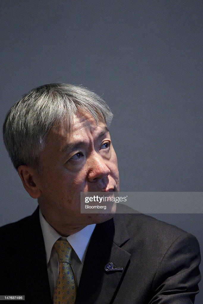 Olympus President Hiroyuki Sasa Unveils Microscopes And Endoscopes