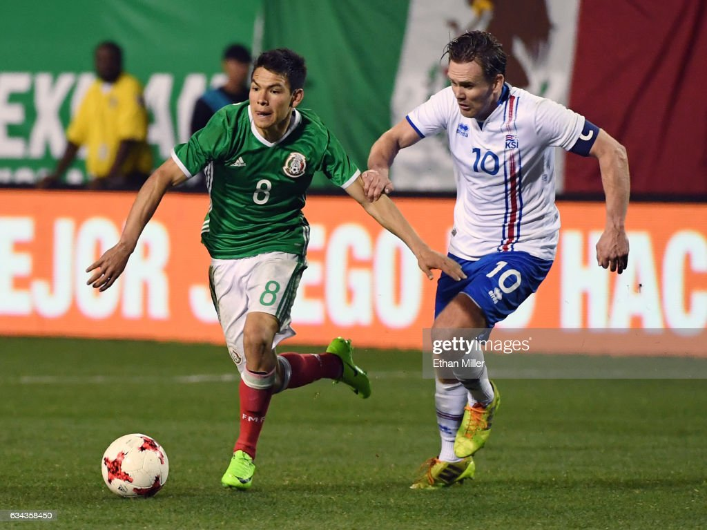 Iceland v Mexico : News Photo