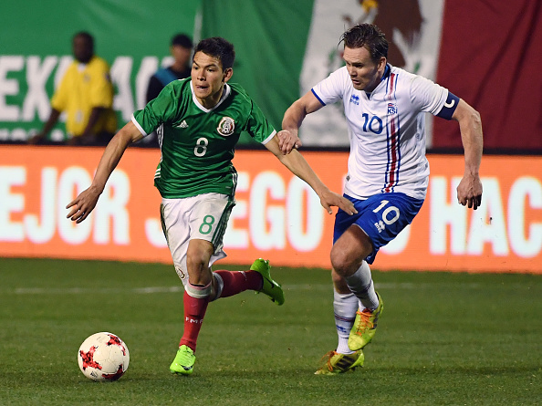 Iceland v Mexico : News Photo