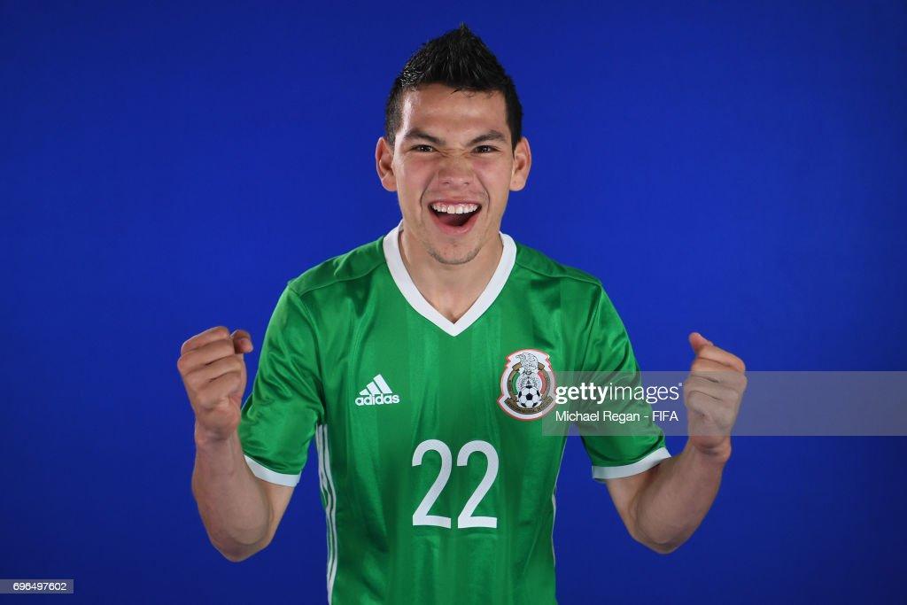 Mexico Portraits - FIFA Confederations Cup Russia 2017