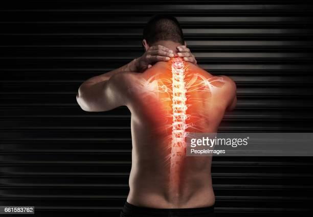 La espalda es un poco fuera de las clases