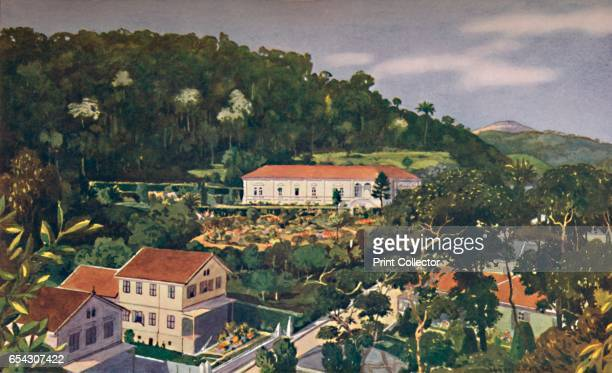 His Britannic Majestys Legation Petropolis 1914 From The Beautiful Rio De Janeiro by Alured Gray Bell [William Heinemann London 1914] Artist Unknown